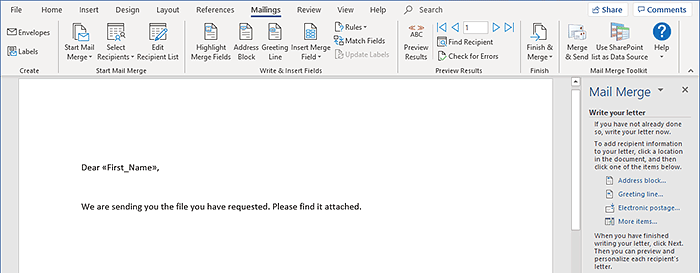 Mail merge with attachments in outlook mapilab blog mail merge in word m4hsunfo