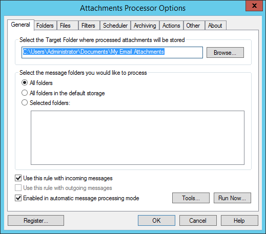 Outlook blocks attachments
