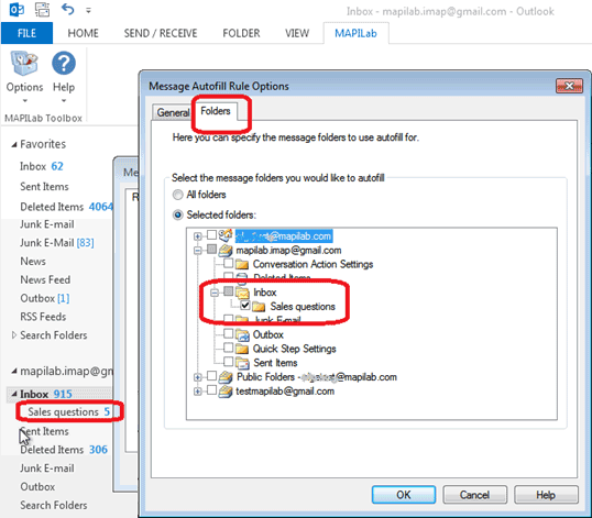 How to add BCC recipient automatically in Outlook 2013 | MAPILab blog