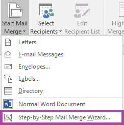 how to use the mail merge feature in microsoft word 2016 mapilab blog