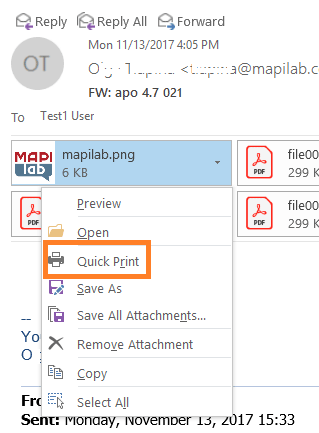 How to print emails and attachments from Outlook: the basic useful