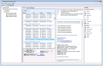 Exchange Server search
