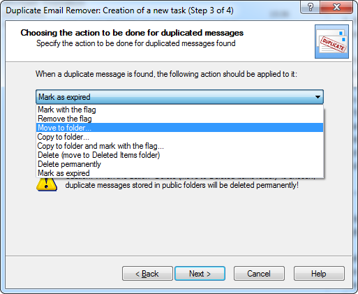 Duplicate Email Remover: Outlook plugin for deleting