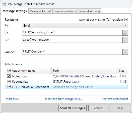 Windows 7 Mail Merge Toolkit 4.0.1 full